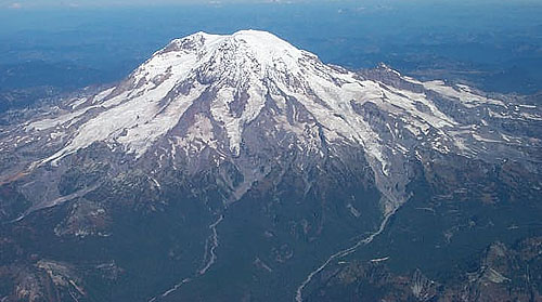 Mt. Tahoma Flyby